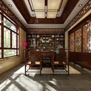 中式韵味的书柜