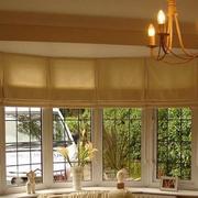 日式风格的窗帘