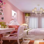 公主似的儿童房