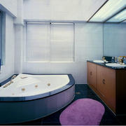 浴室按摩浴缸设计