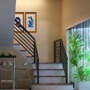 舒适安全的楼梯