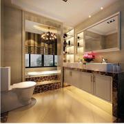 美式干净简洁的卫生间