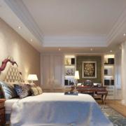 简洁的大户型卧室