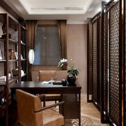 书房隔断设计欣赏