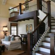 美式实木楼梯欣赏