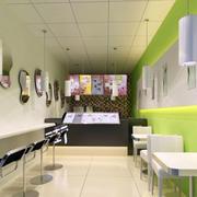 奶茶店墙面装饰