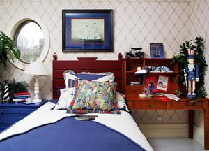 美式风格儿童房床头柜