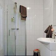 浴室玻璃隔断设计