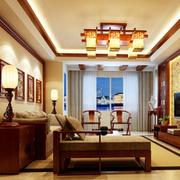 庄重中式风格客厅