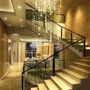 玻璃楼梯展示