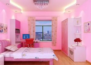 粉色浪漫的卧室