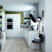 厨房清爽装潢