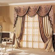客厅欧式窗帘设计