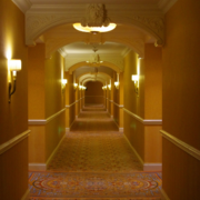 酒店走廊装潢