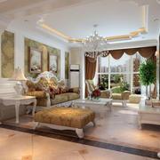 温馨明亮的客厅