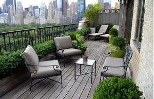别有一番景致露台花园装修效果图