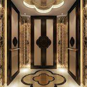 中式韵味的电梯