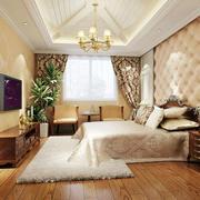 轻奢华的卧室