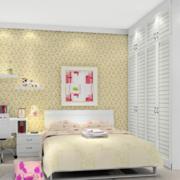 卧室黄色靓丽壁纸