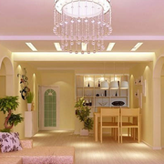 甜美温馨的客厅