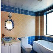 地中海风格的卫生间