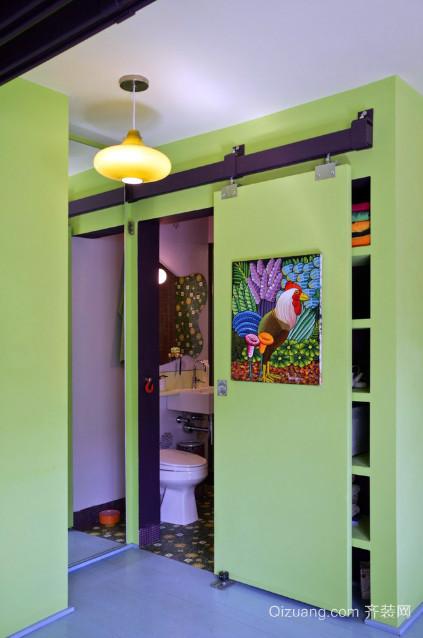 家居卫生间隐形门装修效果图