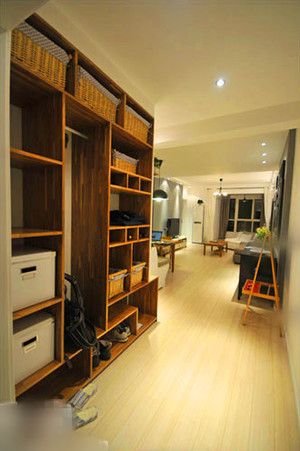 古典简欧风格玄关鞋柜设计装修效果图