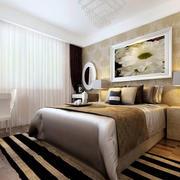 卧室白色时尚的吊顶