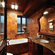 卫生间美式装潢