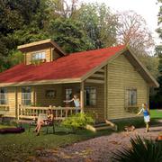 家居木屋图片展示