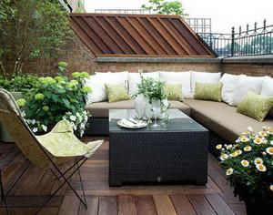令人眼花缭乱的露台花园设计效果图