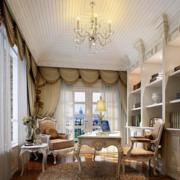 温馨优雅的书房