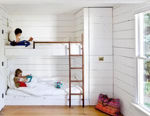 现代简约风格双胞胎儿童房装修效果图