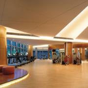 健身房运动时尚地板