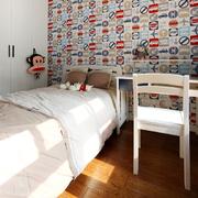 儿童房床头壁纸
