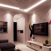 客厅精致墙面设计