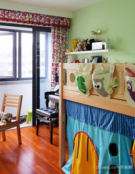 温馨可爱的东南亚风格儿童房设计装修图片大全