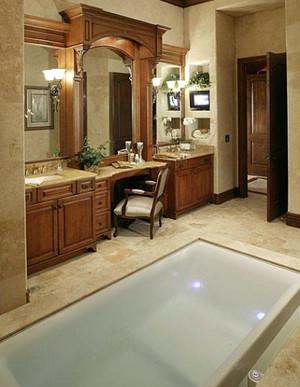美式大户型的卫生间