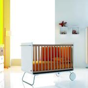 简洁的大户型的卧室