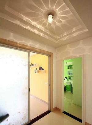 90平米客厅时尚家装过道吊顶装修效果图