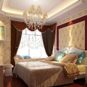 温暖现代化卧室飘窗