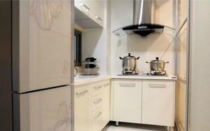 现代小型家居厨房
