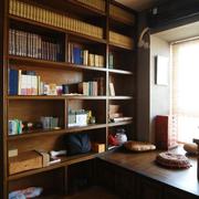 精致的深色系书柜