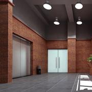 简洁现代电梯