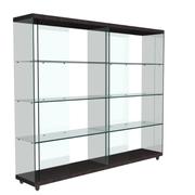 玻璃精巧的储物柜