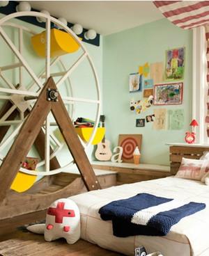 别墅儿童房小型摩天轮