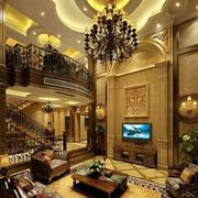 复式楼别墅客厅装潢