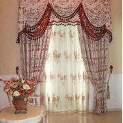 田园风格的窗帘