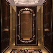 深色系的电梯