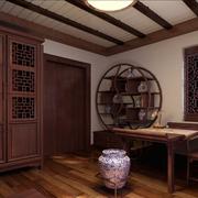 古典时尚的书柜